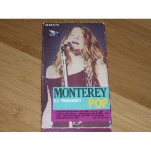 MONTEREY POP 1968 Video (VHS NTSC). D.A. Pennebakers 82