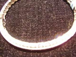 Doris Panos 18K White Gold Diamond Bangle Bracelet