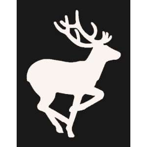 RUNNING DEER Vinyl Sticker/Decal (Hunting,fishing
