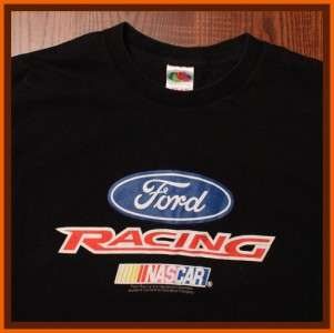 Ford Racing Mustang Car & Automobile T Shirt L
