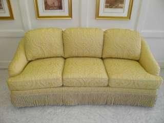 BAKER Sofa   LUXURY Gold Fabric   BRAND NEW