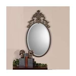 Uttermost Madonnina 33 High Metal Frame Wall Mirror