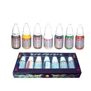 High Quality 7 Color Eachtattoo Tattoo Ink 15Ml Hotsale