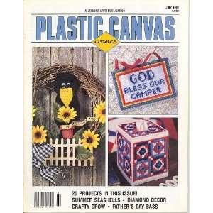 Plastic Canvas Corner Volume 7, Number 5 July 1996 (A Leisure Arts