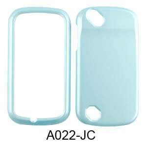 Pantech Laser P9050 Pearl Baby Blue Hard Case/Cover/Faceplate/Snap On
