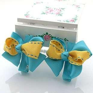 SALEHandmade Girl Baby Hair bow clips holders