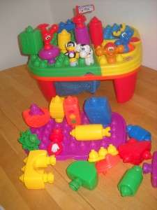 Fisher Price Pop Onz Table 5 animals extra Base 25 + Pieces