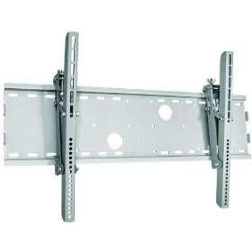 Silver Tilt/Tilting Wall Mount Bracket for Panasonic PT