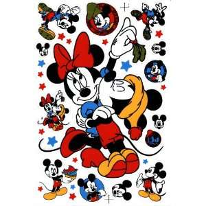 Mickey Minnie Mouse Decal Sticker Sheet P65