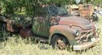 1954 OLD ANTIQUE 6500 Chevy PICKUP Truck FOR PARTS #7