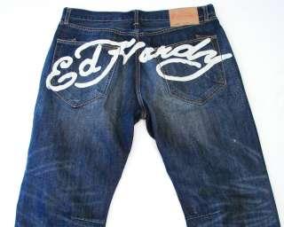 Ed Hardy Mens Signature Denim Jeans sz 40 X 32 NWT $173
