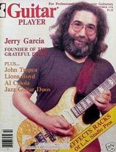 Guitar Player Magazine October 1978 Jerry Garcia