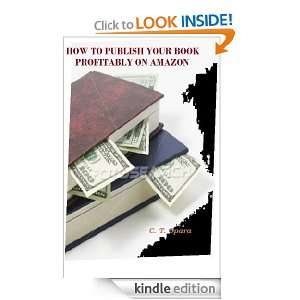 BOOK PROFITABLY ON  Chinedu Opara:  Kindle Store