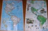 National Geographic MAP December 2000 Peopling Americas
