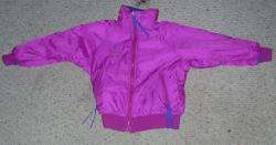 Ski and Snowboard Puffy Reversable Pink Purple Kids Girls Parka
