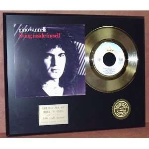 Gold Record Outlet Gino Vannelli 24kt Gold Record Display