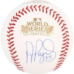 Albert Pujols Autographed Baseball  Details St. Louis