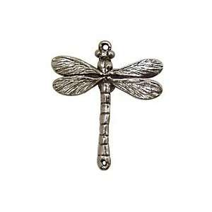 Green Girl Pewter Dragonfly Link 30x35mm Findings Arts