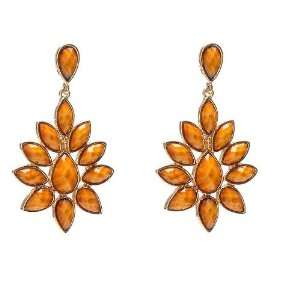 Amrita Singh Dune Earring (Honey Gold): Amrita Singh: Jewelry