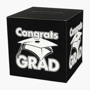 Grad Money Gift Card Box Graduation Party  Home & Kitchen