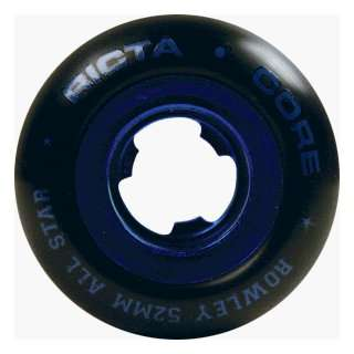 Ricta Rowley All star Blk/blu Chrome 52mm (4 Wheel Pack)