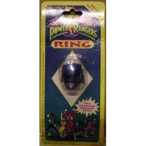 Mighty Morphin Power Rangers Ring   Blue Ranger Toys