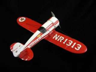 1930 Travel Air R Mystery Ship Wings of Texaco Airplane