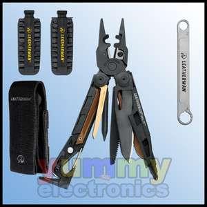 New Leatherman MUT EOD Black Multi Tool + Black Molle Sheath & 42PC
