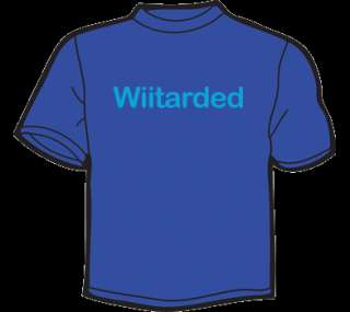 WIITARDED T Shirt WOMEN wii game gamer retro emo punk