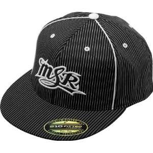 MSR Stripes Hat Youth Black/White One Size Sports