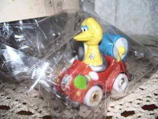 SESAME STREET MUPPETS BIG BIRD CAST METAL CAR 1987