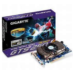 Gigabyte nVidia GeForce GTS250 1 GB PCI Express Video Card