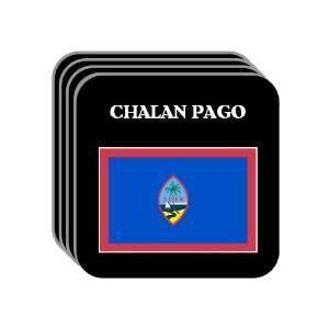 Guam   CHALAN PAGO Set of 4 Mini Mousepad Coasters