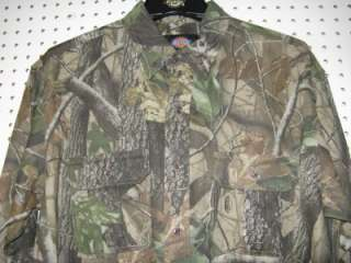 DICKIES~NWT DICKIES REALTREE HARDWOODS CAMOUFLAGE SHIRT