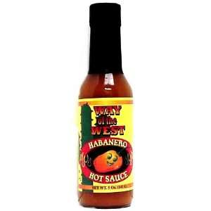 Way of the West Habanero Hot Sauce (Case 12 / 5 oz.)