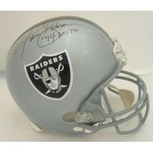 Ken Stabler Oakland Raiders Signed Full Size Helmet Mvp