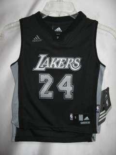 Kobe Bryant Black NBA Kids Swingman Jersey Size 4
