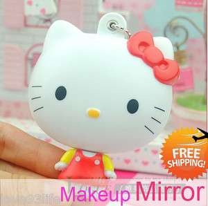 hello kitty makeup mirror hello kitty doll mirror FREE SHIP