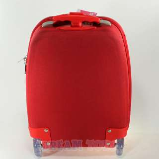 Sanrio Hello Kitty Polka Dot Red Kids Luggage Suitcase   Travel Roller