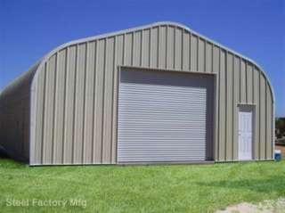 Steel Factory Prefab P20x30x12 Residential Metal Garage Workshop