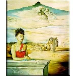 Portrait of Mrs. Jack Warner 25x30 Streched Canvas Art by