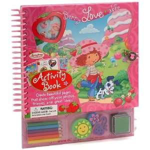 Strawberry Shortcake Activity Book Toys & Games