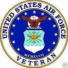 United States Air Force Veteran Window Decal Sticker