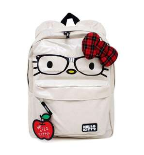 AUTHENTIC Loungefly ~ HELLO KITTY NERD FACE BACKPACK  HOT
