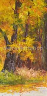 Wall Handmade Landscape Impression Oil Painting On Canvas Bj004
