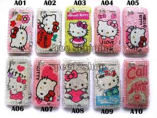 Hello kitty Bling Case Cover for HTC Sensation G14 New