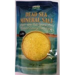 Sea of Spa Natural Dead Sea Mineral Bath Salt  Vanilla Scent Beauty