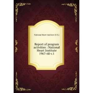 Report of program activities  National Heart Institute