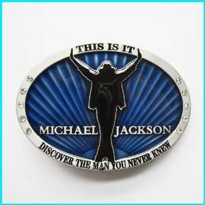MICHAEL JACKSON THIS IS IT Belt Buckle MU 086BL