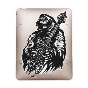 Case Metal Bronze Grim Reaper Heavy Metal Rock Player